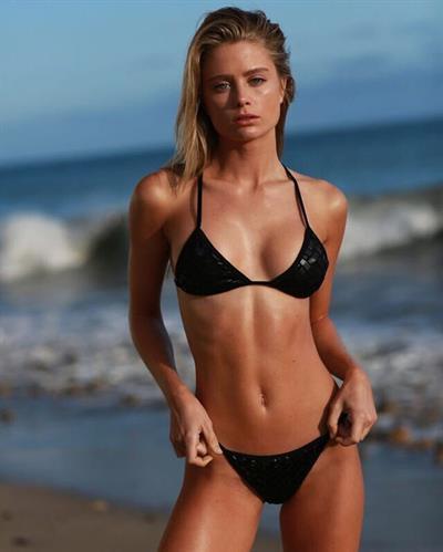 Allie Holton in a bikini