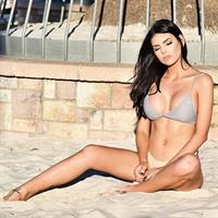 Nicole Thorne in a bikini