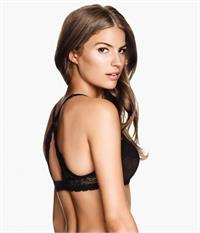 Cameron Russell in lingerie