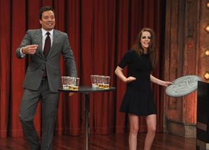 Kristen Stewart Late Night with Jimmy Fallon 11/7/12