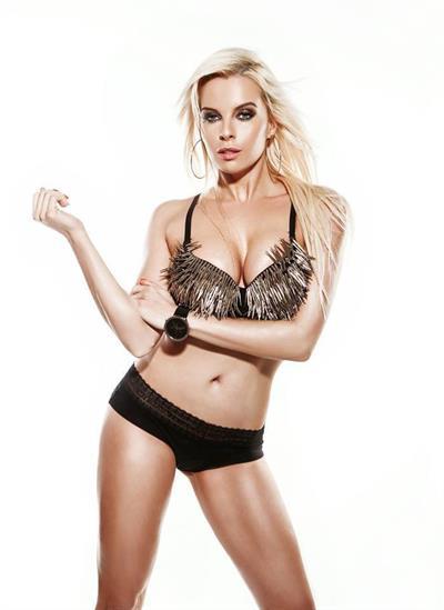 Katerina Kristelová in a bikini