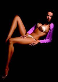 Mădălina Diana Ghenea in a bikini