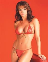 Karen McDougal in a bikini