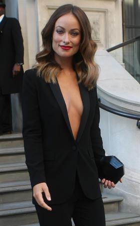 Olivia Wilde Leaving her hotel in London - September 2, 2013