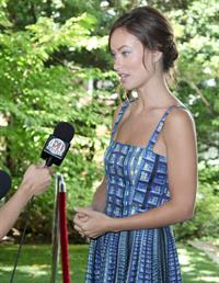 Olivia Wilde Artists For Peace And Justice Brunch - 2013 Toronto International Film Festival - September 8, 2013