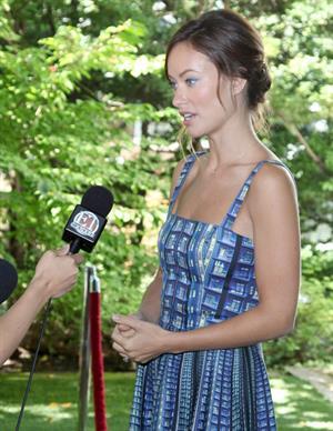 Olivia Wilde Artists For Peace And Justice Brunch - 2013 Toronto International Film Festival - September 8, 2013