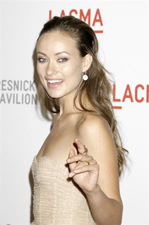 Olivia Wilde lacma presents The Unmasking of Resnick Pavilion Opening Gala September 25, 2010