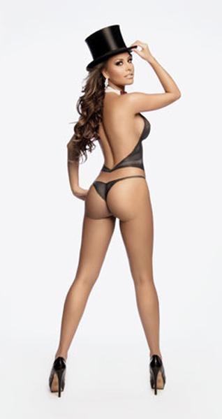 Gaby Ramirez in lingerie - ass