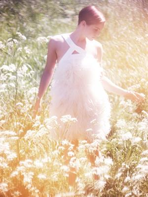 Emma Watson Alei Lubomirski photoshoot 2011 for Harper's Bazaar