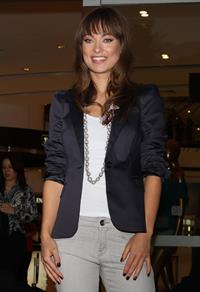 Olivia Wilde attends photocall at Liverpool Fashion Fest in Mexico City February 25, 2011