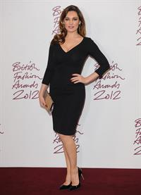 Kelly Brook British Fashion Awards in London 11/27/12
