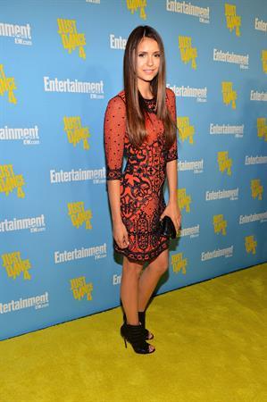Nina Dobrev at Entertainment Weekly party at Comic Con July 14, 2012