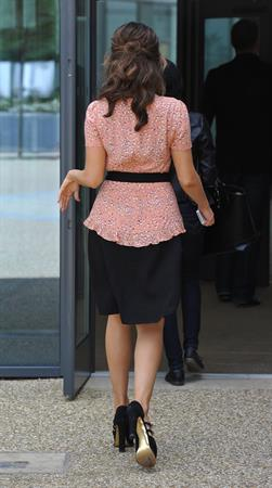 Kelly Brook - During a Skyride photoshoot - Manchester - July 7, 2012