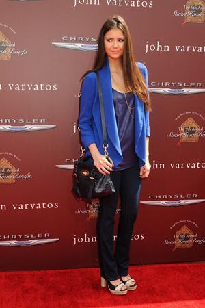 Nina Dobrev at John Varvatos 9th annual Stuart House Benefit November 3, 2012