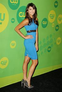 Nina Dobrev attending the CW's Upfront presentation at New York City Center in New York City on May 16, 2013