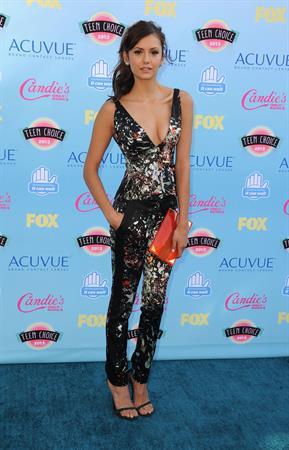 Nina Dobrev at the 2013 Teen Choice Awards Universal City California August 11, 2013