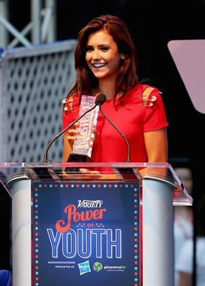 Nina Dobrev - Variety's Power of Youth 7/27/13