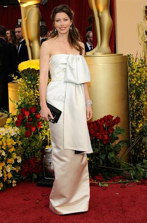 Jessica Biel 81st Annual Academy Awards arrivals in Hollywood