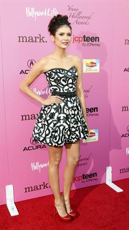 Nina Dobrev at the 12th annual Young Hollywood Awards in Los Angeles on May 13, 2010