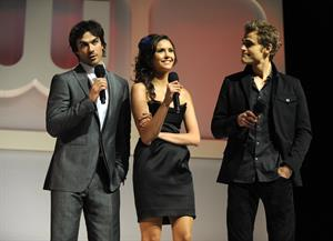 Nina Dobrev at the CW Network Upfront on May 20, 2010 in New York City