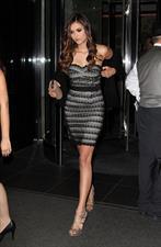 Nina Dobrev leaving her hotel in New York May 17, 2012