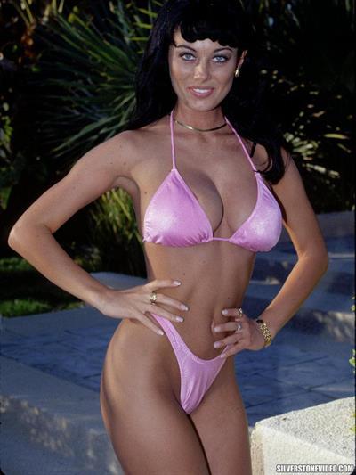Anita Dark in a bikini