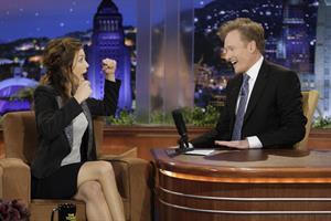 Jessica Biel the Tonight Show with Conan O'Brien