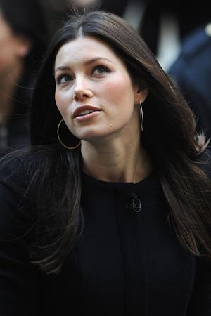 Jessica Biel at the Today Show in New York 8-12-2011
