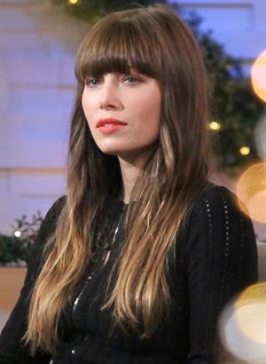 Jessica Biel At GMA Studios in New York City 04.12.12