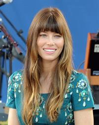Jessica Biel Good Morning America in New York 03.08.12
