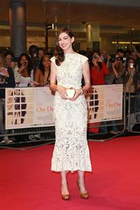 Anne Hathaway One Day European Premiere in London August 23, 2011