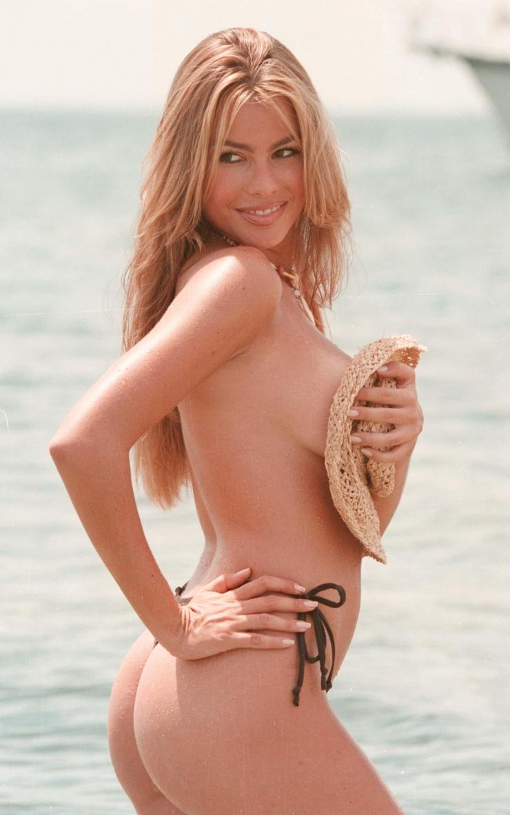 Sofia Vergara in a bikini - ass