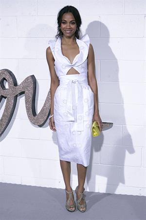 Zoe Saldana Chloe Los Angeles Boutique Opening Celebration April 23, 2009