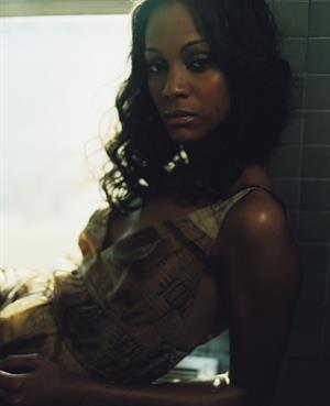 Zoe Saldana - Andy Ryan Photoshoot 2004