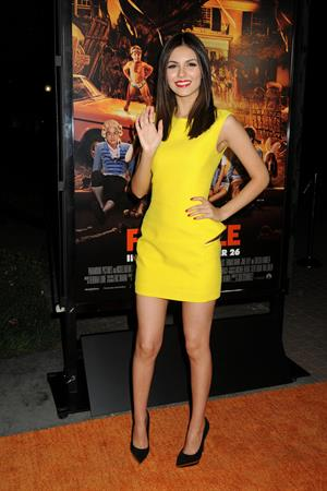 Victoria Justice at the  Fun Size  premiere in LA 10/25/12