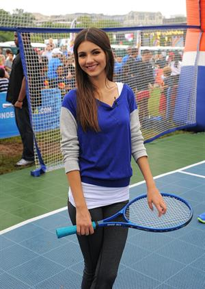 Victoria Justice Worldwide Day of Play event in Washington DC 9/24/11