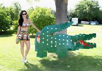 Katy Perry attends LACOSTE L!ve 4th Annual Desert Pool Party in Thermal April 13, 2013