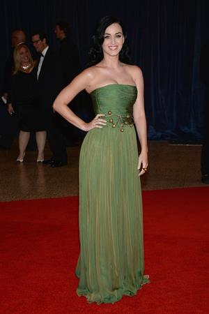 Katy Perry White House Correspondents Association Dinner in Washington April 4, 2013