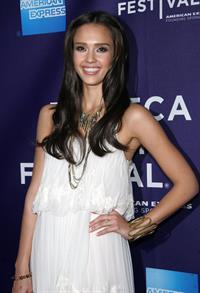 Jessica Alba at The Killer Inside Me Premiere on April 27, 2010 in New York City
