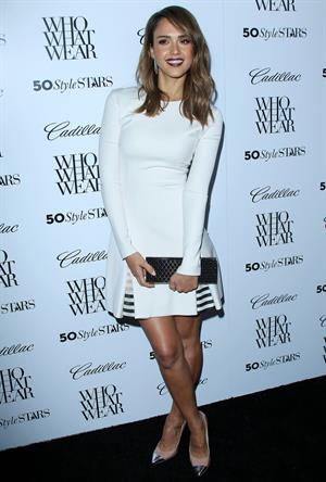 Jessica Alba 50 Most Fashionable Women of 2013 event, Los Angeles