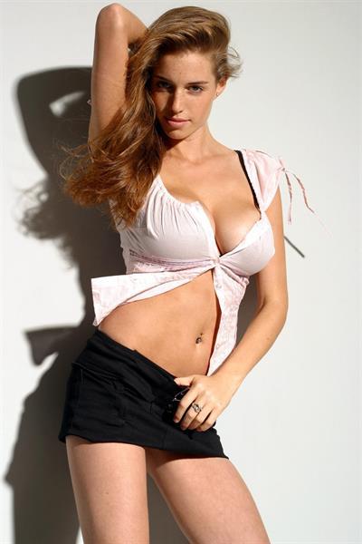 Amit Freidman in lingerie
