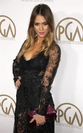Jessica Alba - PGA in LA (26.01.2013) - 24th Annual Producers Guild Awards at The Beverly Hilton Hotel