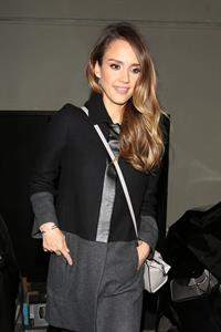 Jessica Alba - leaving Nobu's in Beverly Hills (05.02.2013)