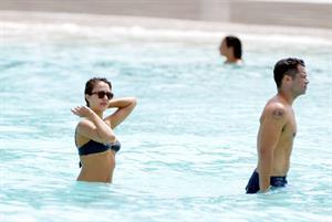 Jessica Alba bikini candids in St. Barts 4/6/13