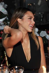 Jessica Alba at Salvatore Ferragamo Launch 12/5/12