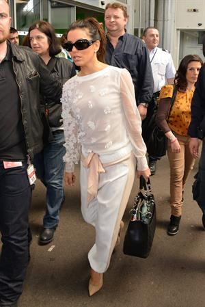 Eva Longoria - Arrives in Cannes (16.05.2013)