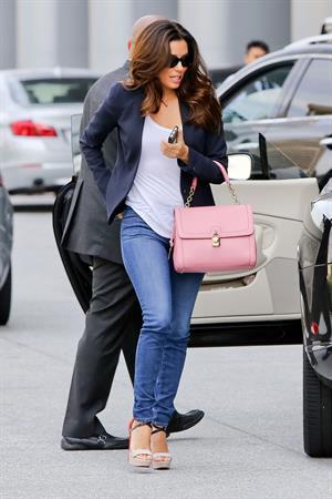 Eva Longoria out in LA 5/21/13