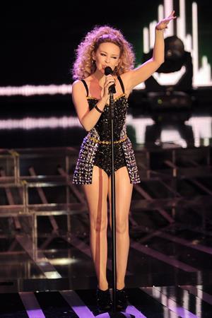 Kylie Minogue Performs at Factor Italian TV Show at Teatro della Luna in Milan 06.12.12
