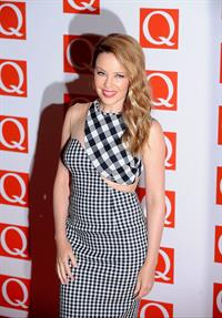 Kylie Minogue The Q Awards in London - October 22, 2012