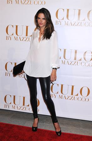Alessandra Ambrosio at the launch of Culo by Mazzucco 19.11.11